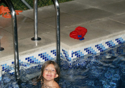 Noche de piscina