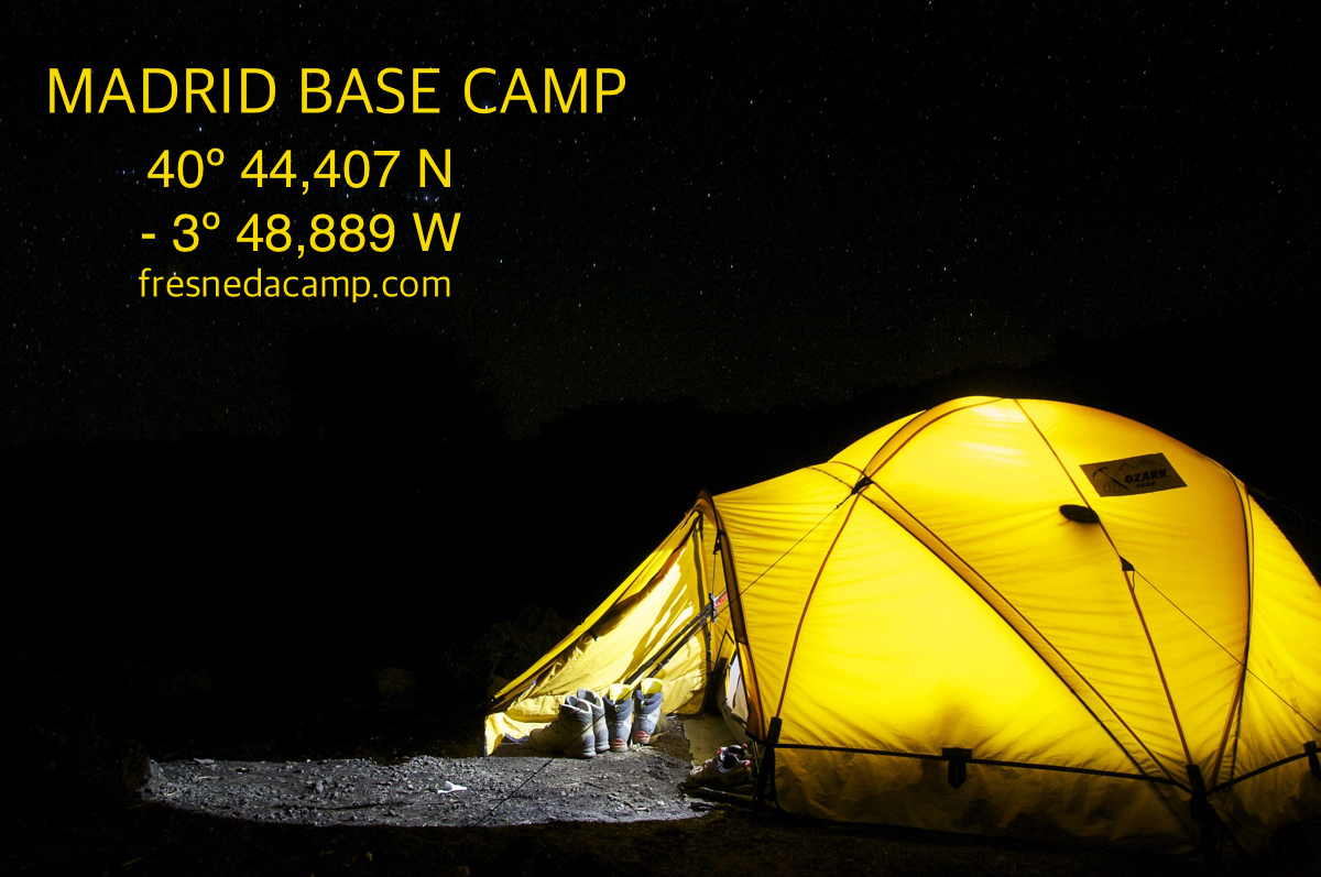 Madrid base camp