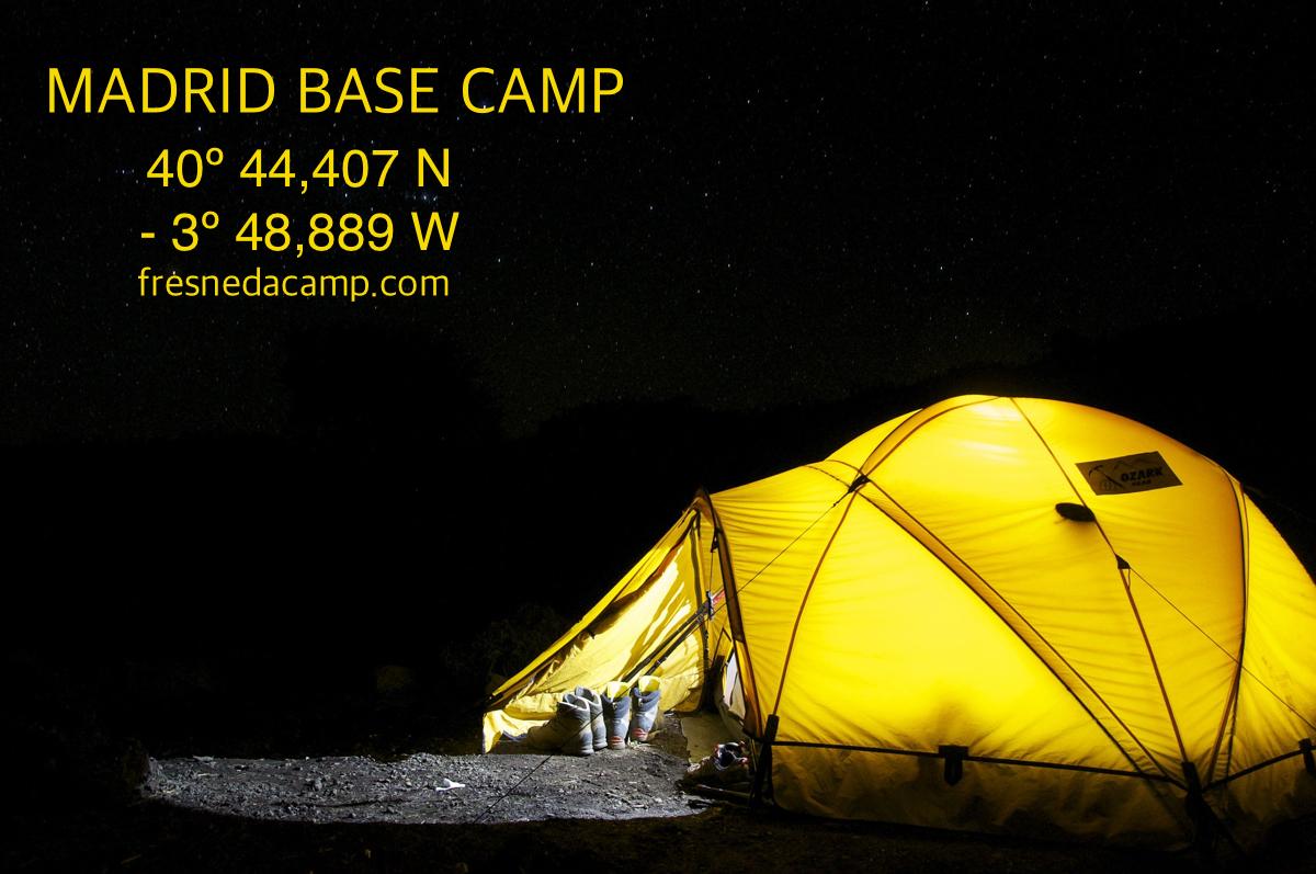 Madrid base camp
